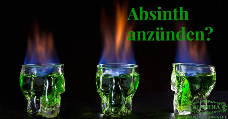 Absinth anzünden: Wirklich eine gute Idee?