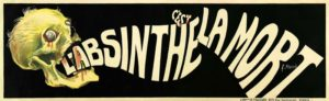 Historisches Anti-Absinth Plakat