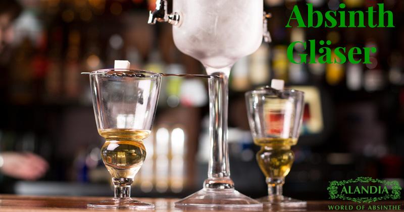 Absinth Gläser: Pontarlier bis Totenkopf Glas