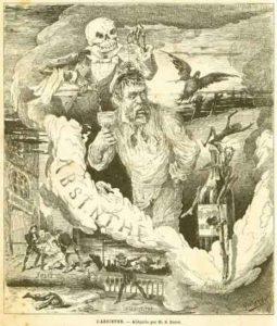 Absinth Halluzinationen