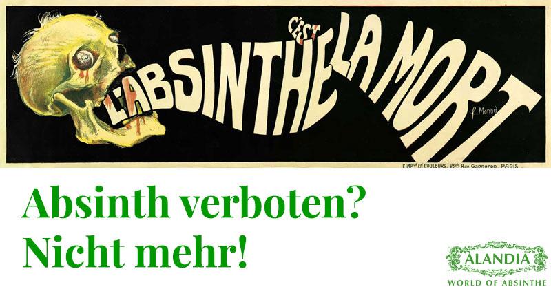 Absinth verboten