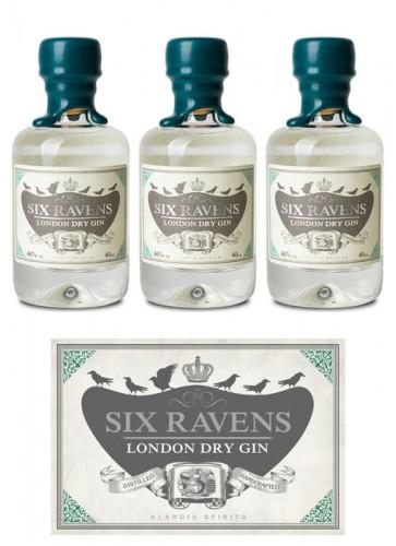 Six Ravens London Dry Gin Mini