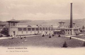 Absinthe Pernod Factory